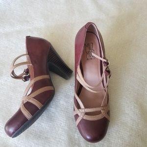 "Miz mooz ""Naoki "" Mary Jane pump heels 8"